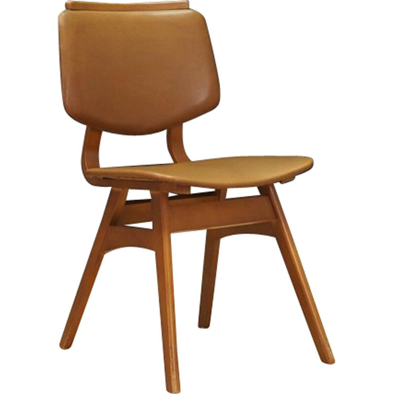Vintage Chair in beech Scandinavian 60-70s