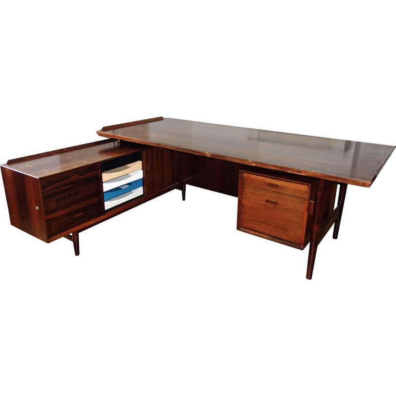 Vintage desk in rosewood by Arne Vodder for Sibast 1965