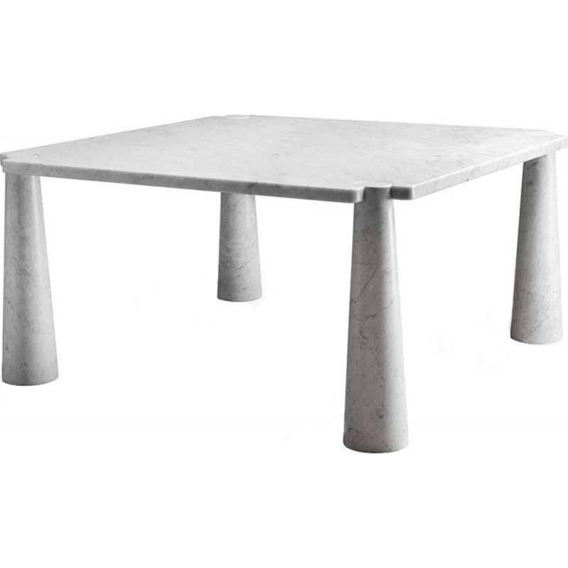 "Dining table AGAPECASA ""Eros"" 145cm square, Angelo Mangiarotti"