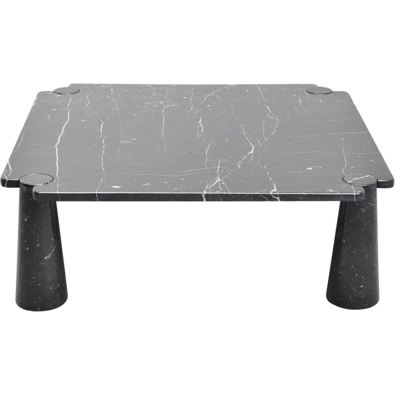 "Coffee table AGAPECASA ""Eros"" 145cm square, Angelo Mangiarotti"