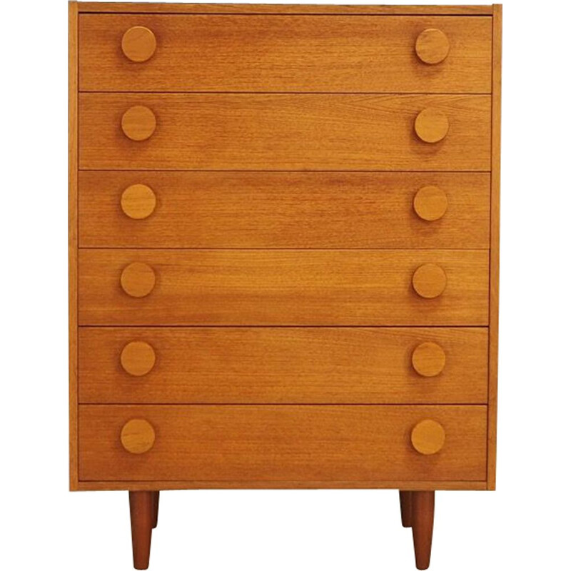 Vintage Danish design chest of drawers