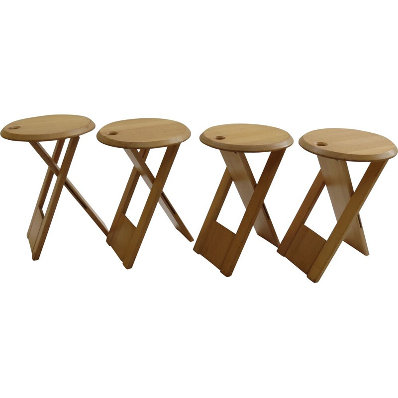 Vintage Suzy stool designed by Adrian Reed for Princes Design Works