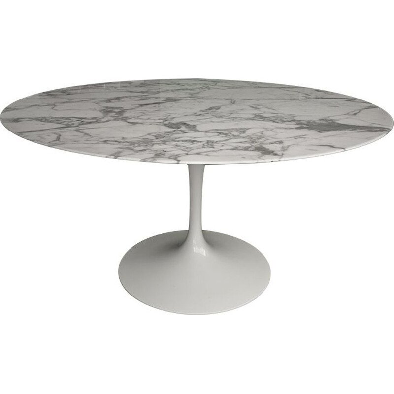 Tulip marble table by Eero Saarinen for Knoll
