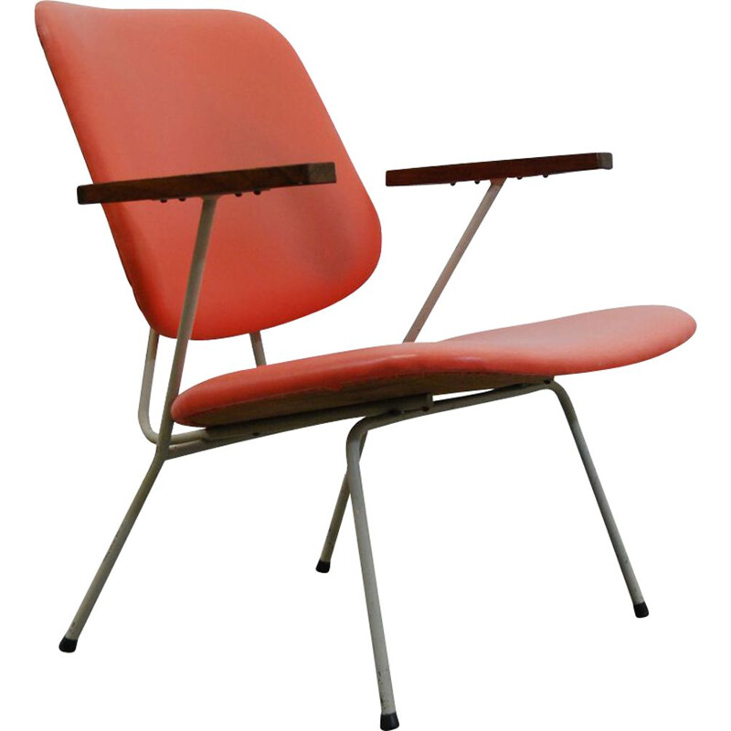 Vintage Easy Chair Industrial by Gispen for Kembo 1950s