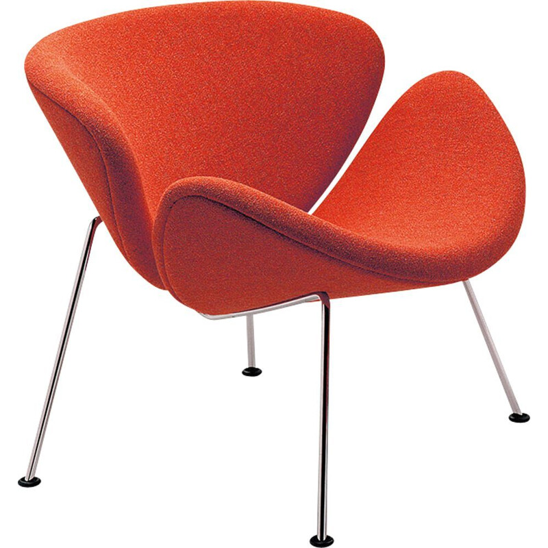 """Orange Slice F437"" armchair, Pierre Paulin for ARTIFORT"