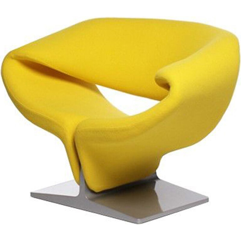 """Ribbon F582"" armchair, Pierre Paulin for ARTIFORT"