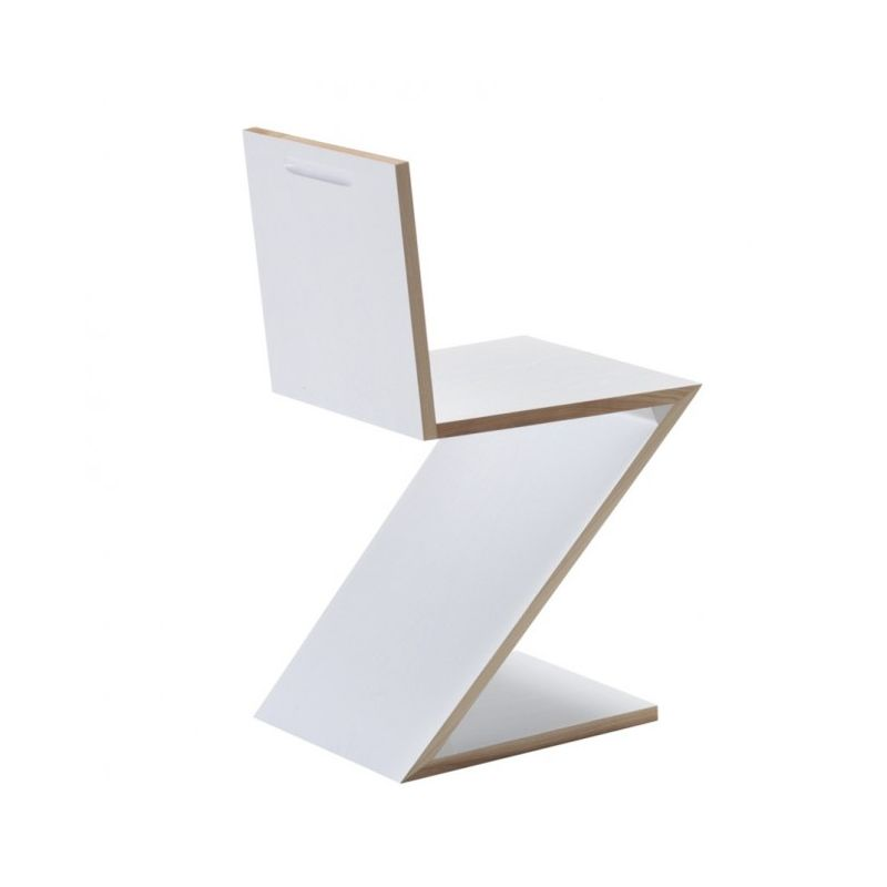 Brilliant Zig Zag Chair Rietveld For Cassina Short Links Chair Design For Home Short Linksinfo
