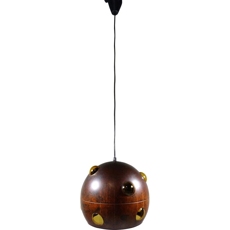 Vintage hanging lamp by Nanny Still-McKinney for Raak, Netherlands 1960s