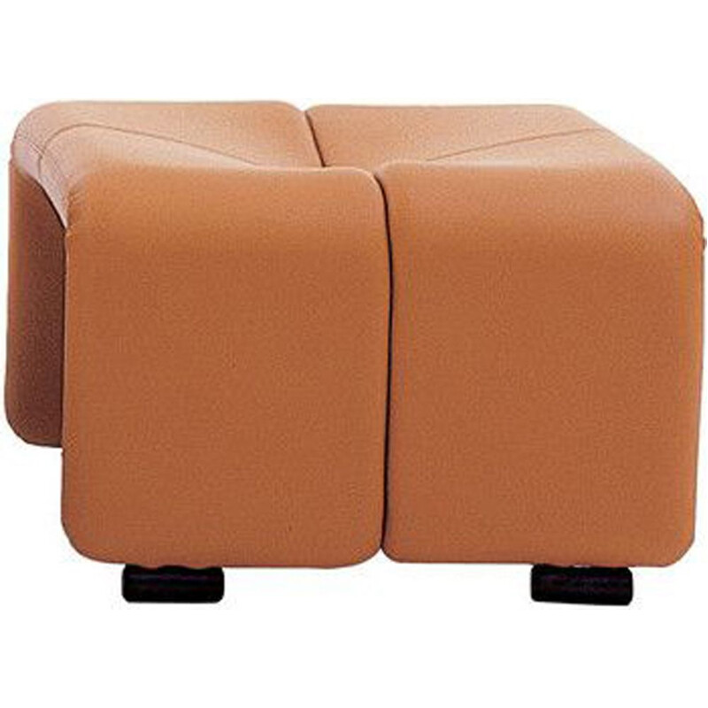 """Coronado"" footstool by Afra and Tobia Scarpa for B&B ITALIA"