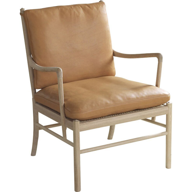 """""""Colonia chair"""" or """"OW149"""" armchair fabrics by Ole Wanscher for CARL HANSEN & SON"""