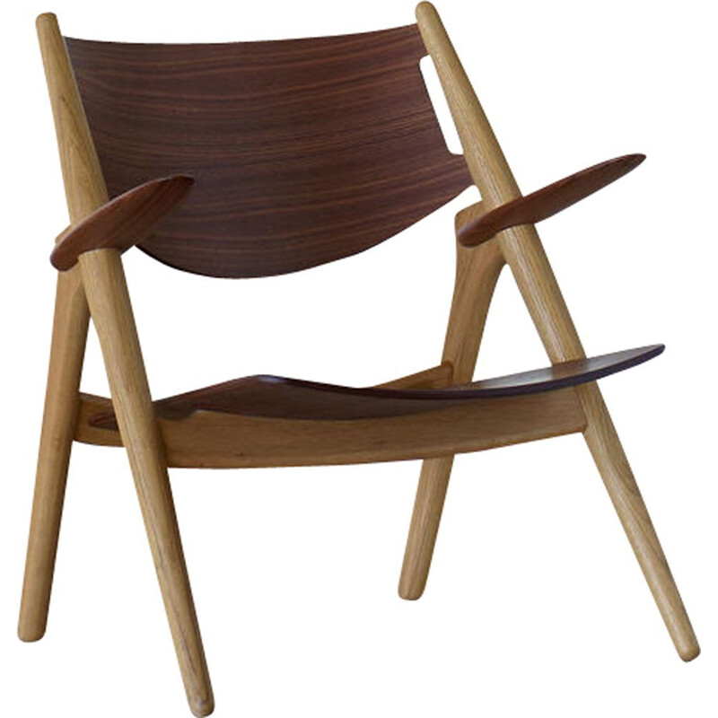 """CH28 T"" armchair by Hans J. Wegner for CARL HANSEN & SON"