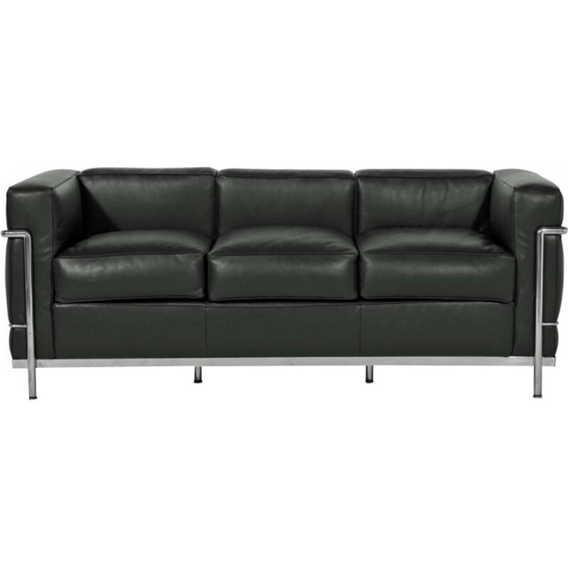 """LC2"" 3-seater sofa, Le Corbusier for CASSINA"