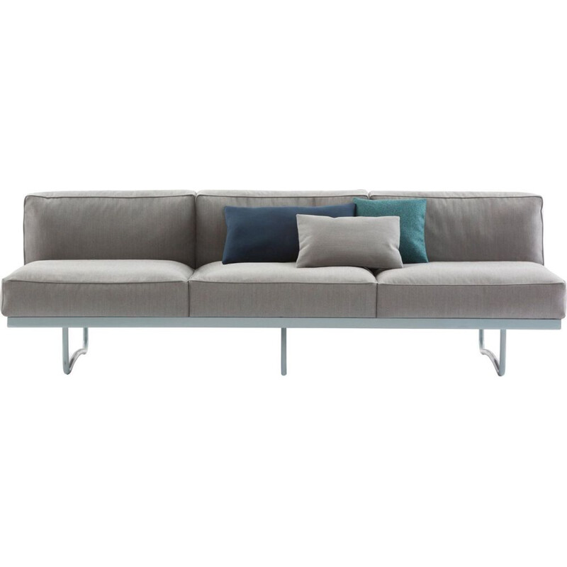 """LC5"" 3-seater sofa, Le Corbusier for CASSINA"