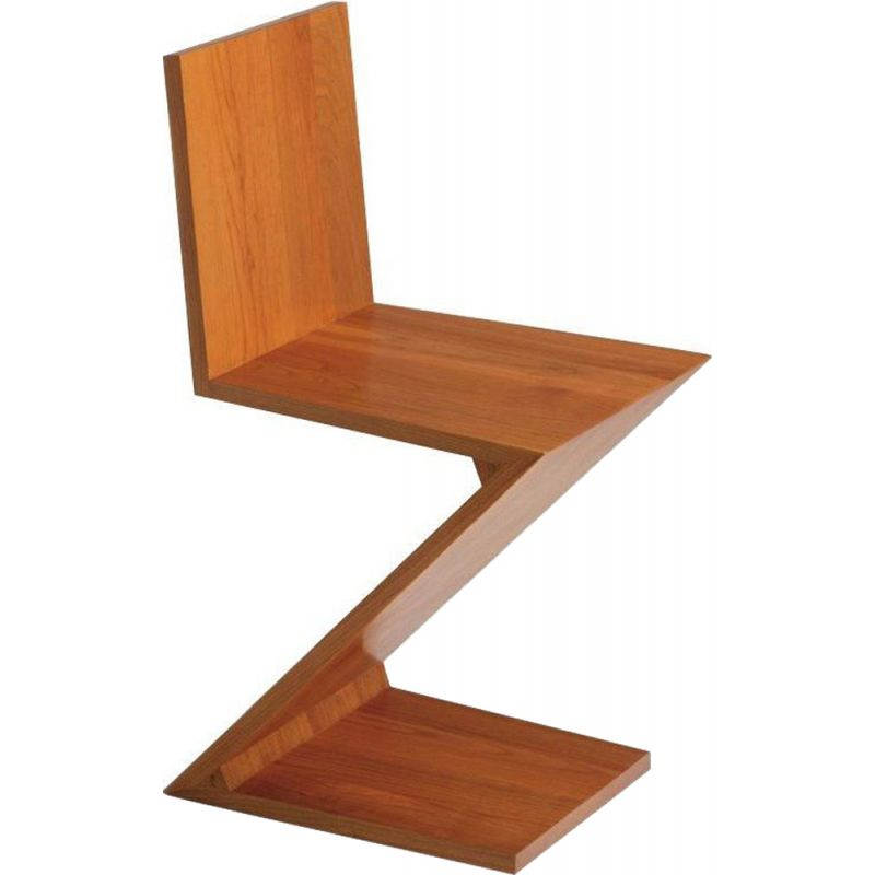 """ZIG-ZAG"" chair, Rietveld for CASSINA"