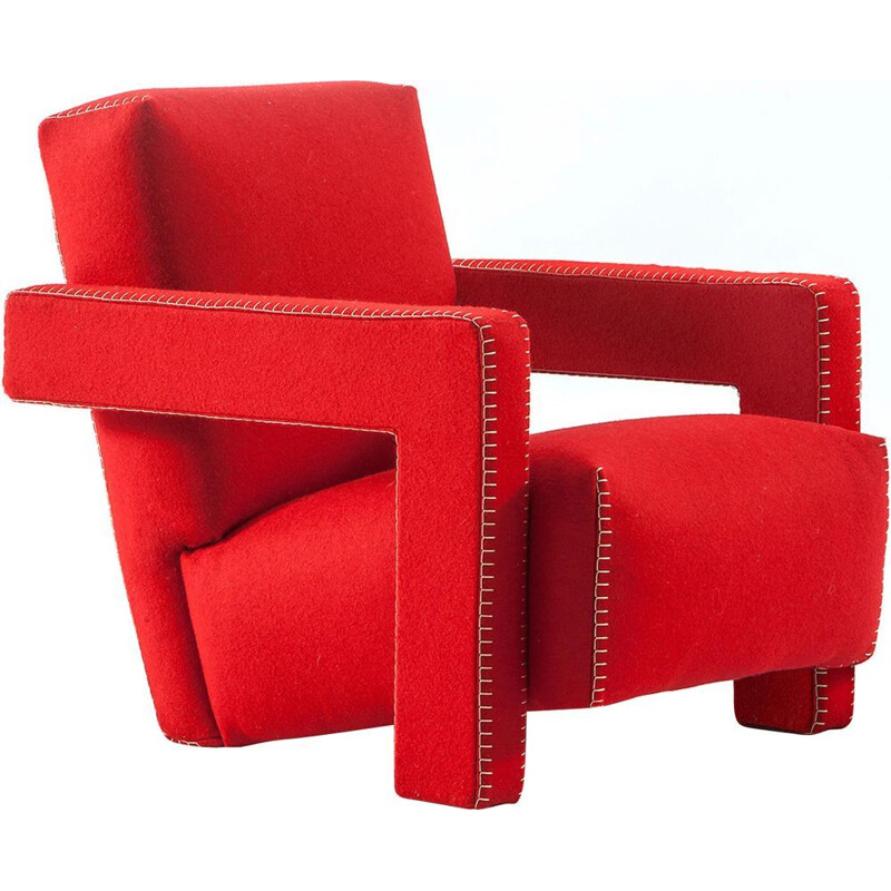 """UTRECHT"" armchair, Rietveld for CASSINA"