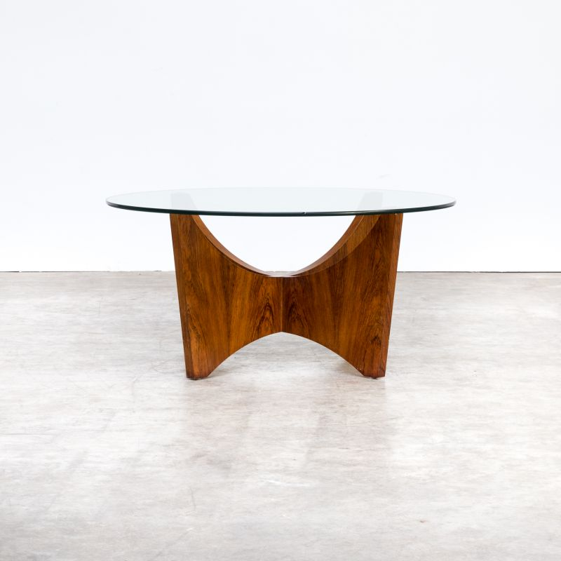 Wooden Round Coffee Table With Glass Top Design Market