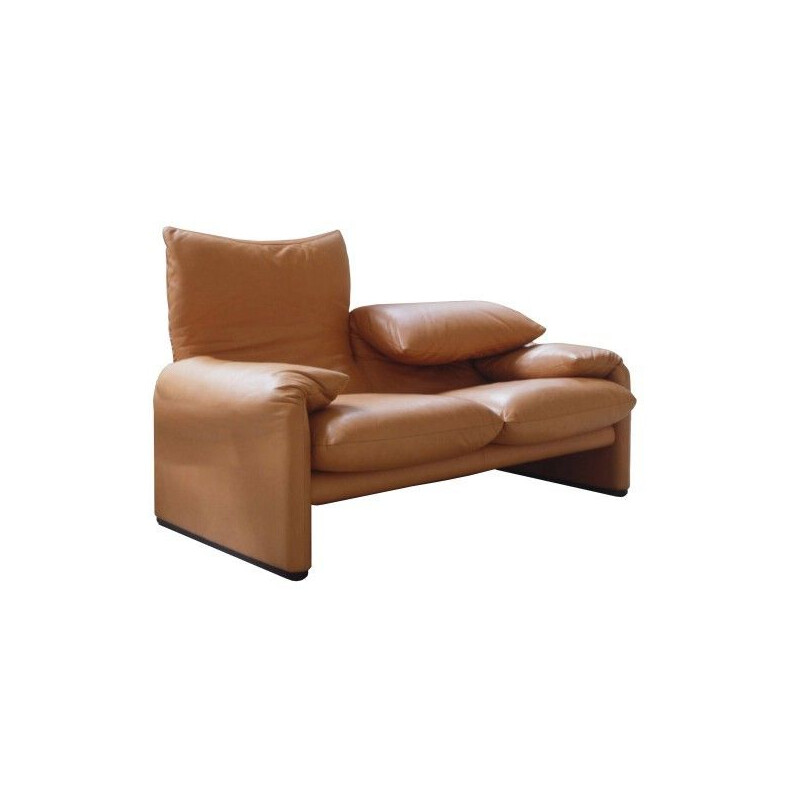 """MARALUNGA 40 MAXI"" 2-seater sofa, 204cm, Vico Magistretti for CASSINA"