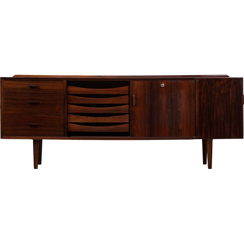 Vintage rosewood sideboard by Arne Vodder for Sibast