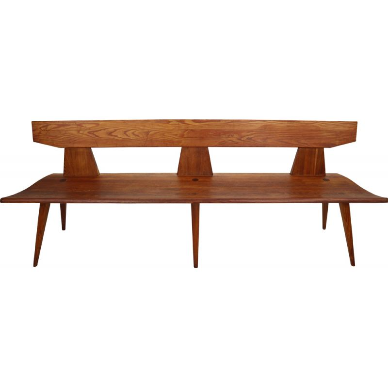 Bench in pinewood by Jacob Kielland Brandt for Christiansen