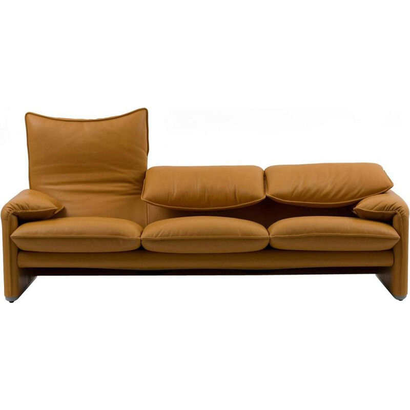 """MARALUNGA 675"" 2-seater sofa, 166cm, Vico Magistretti for CASSINA"