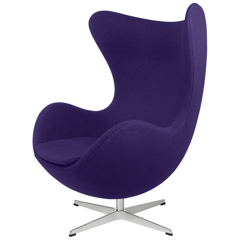 """Egg chair"", fabric, by Arne Jacobsen for FRITZ HANSEN"