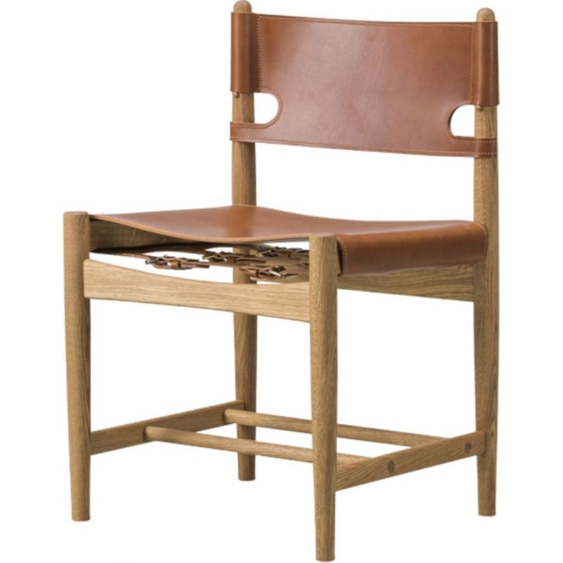 """""""The Spanish dining chair model 3237"""", Borge Mogensen for FREDERICIA"""