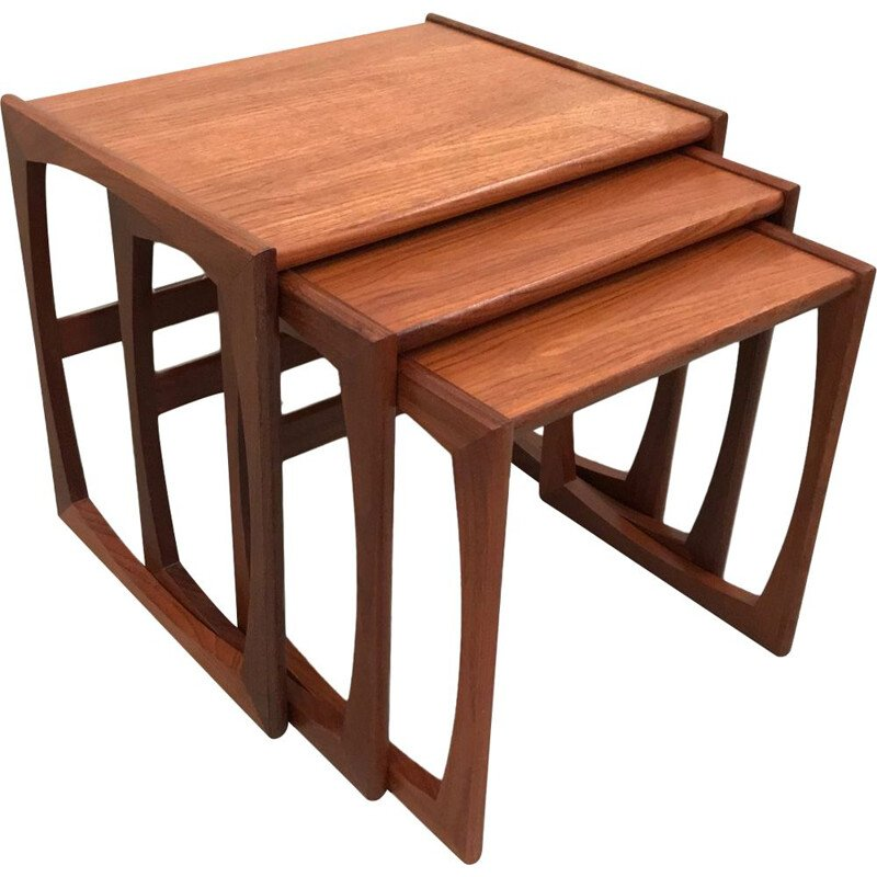 Vintage G Plan nesting tables by Victor Wilkins