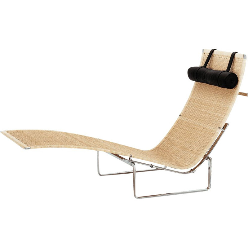 """PK24"" chaise longue by Poul Kjaerholm for FRITZ HANSEN"