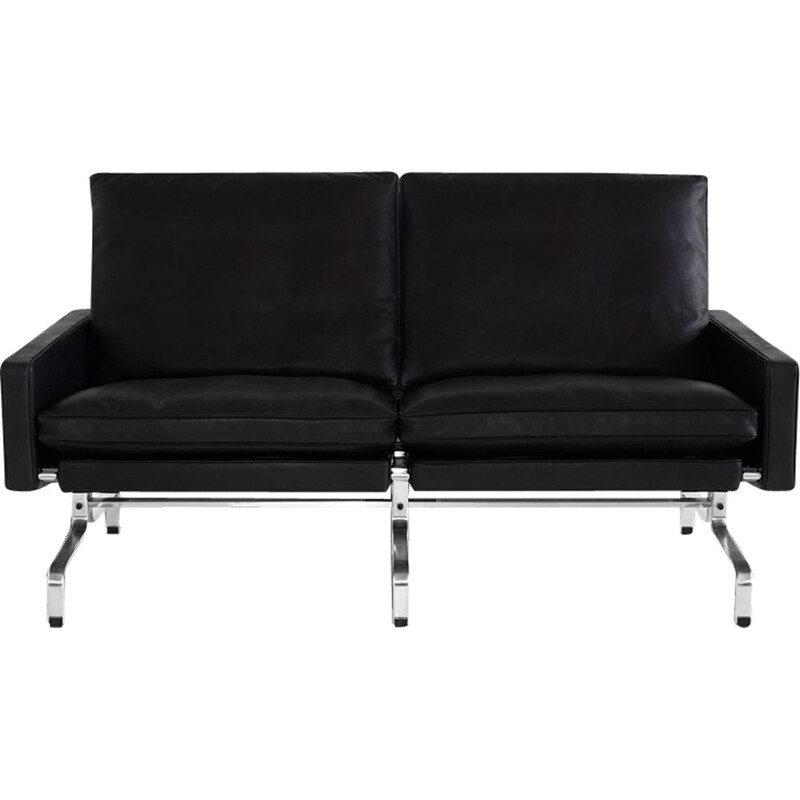"""PK31"" 2-seat sofa by Poul Kjaerholm for FRITZ HANSEN"