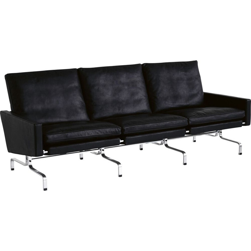 """PK31"" 3-seat sofa by Poul Kjaerholm for FRITZ HANSEN"