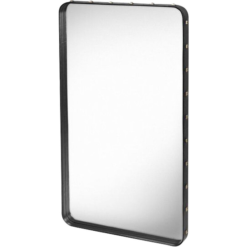 Rectangular mirror, 115*70, Jacques Adnet for GUBI