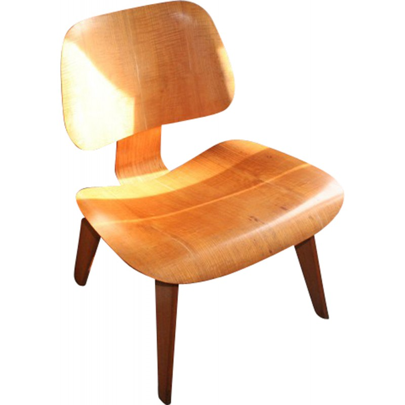 Enjoyable Herman Miller Lcw Chair In Wood Charles Ray Eames 1940S Uwap Interior Chair Design Uwaporg