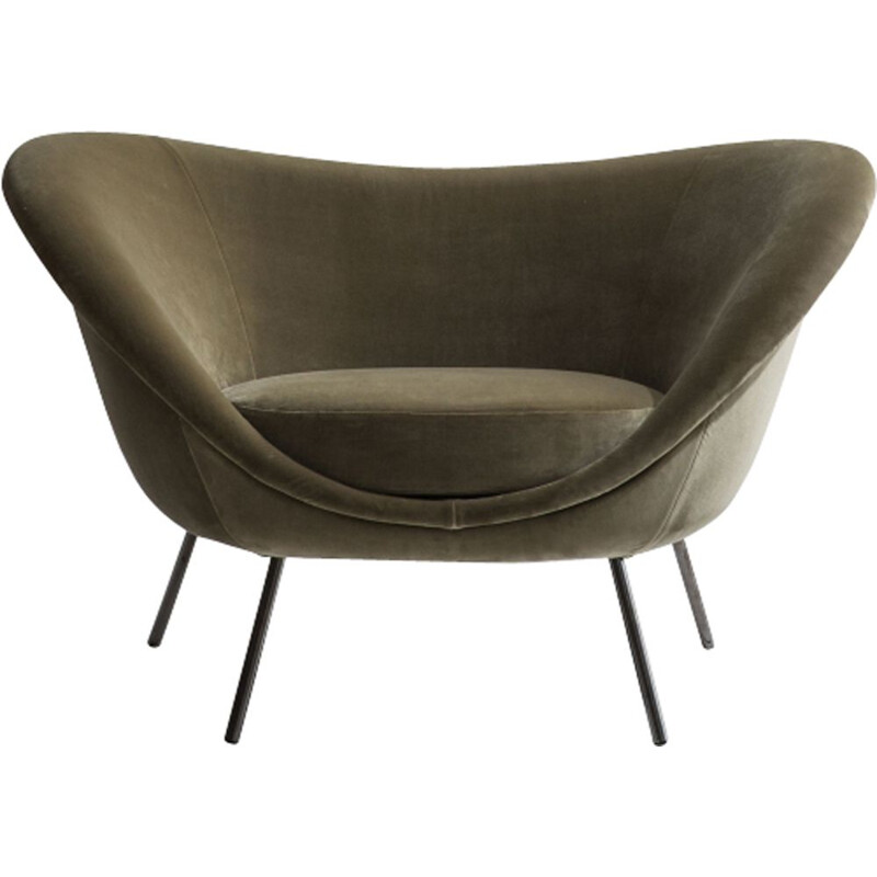 """D 154-2"" armchair by Gio Ponti for MOLTENI & C"