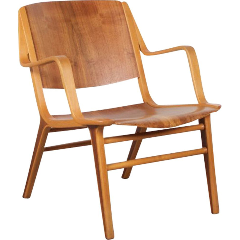 Vintage Ax chair by Peter Hvidt and Orla Molgaard-Nielsen for Fritz Hansen