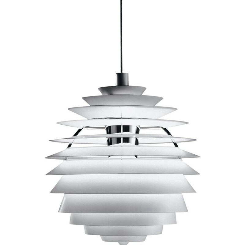 "Pendant light ""PH Louvre"" by Poul Henningsen for LOUIS POULSEN"