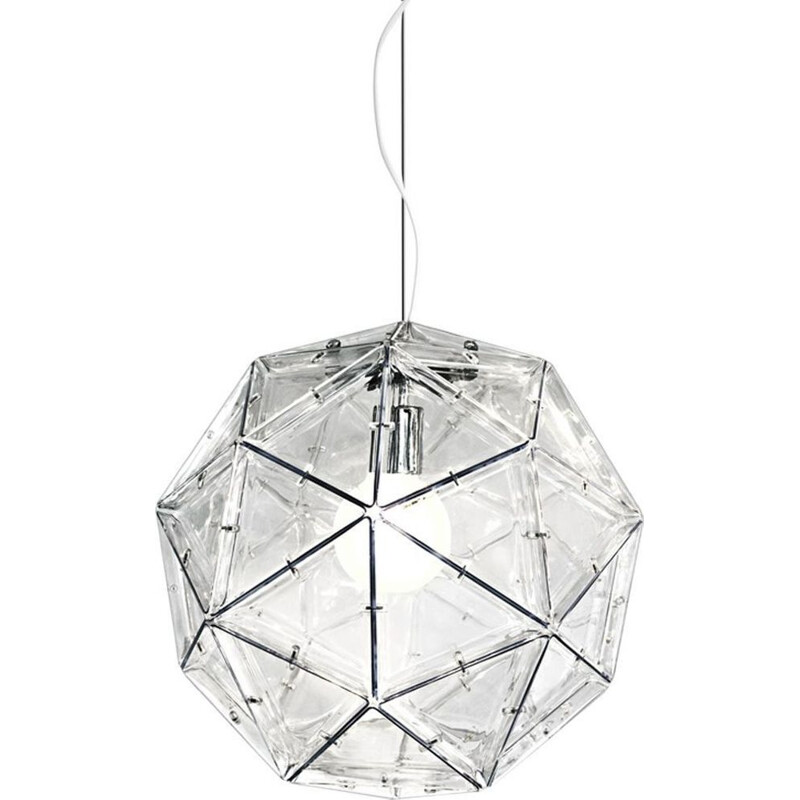 """Poliedro"" pendant light, Elio Martinelli for MARTINELLI LUCE"