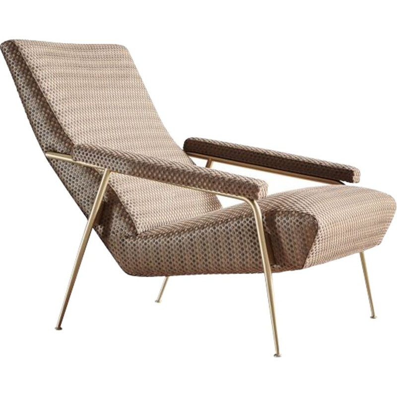 """D 153-1"" armchair by Gio Ponti for MOLTENI & C"