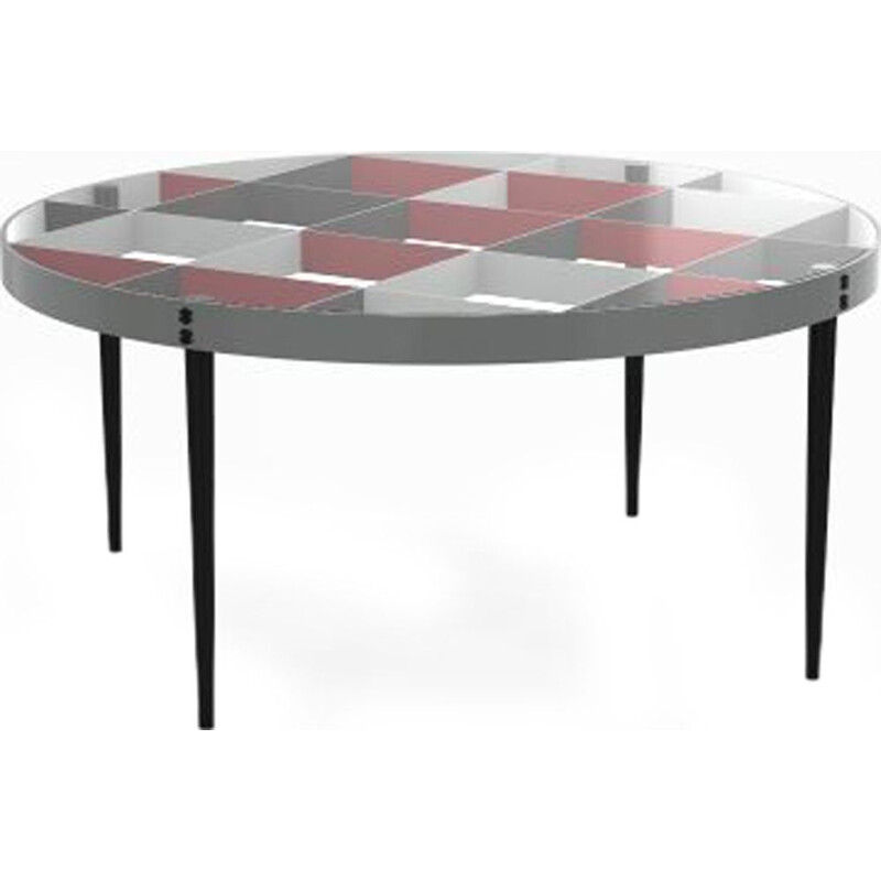 """D 555-1"" coffee table by Gio Ponti  for MOLTENI & C"