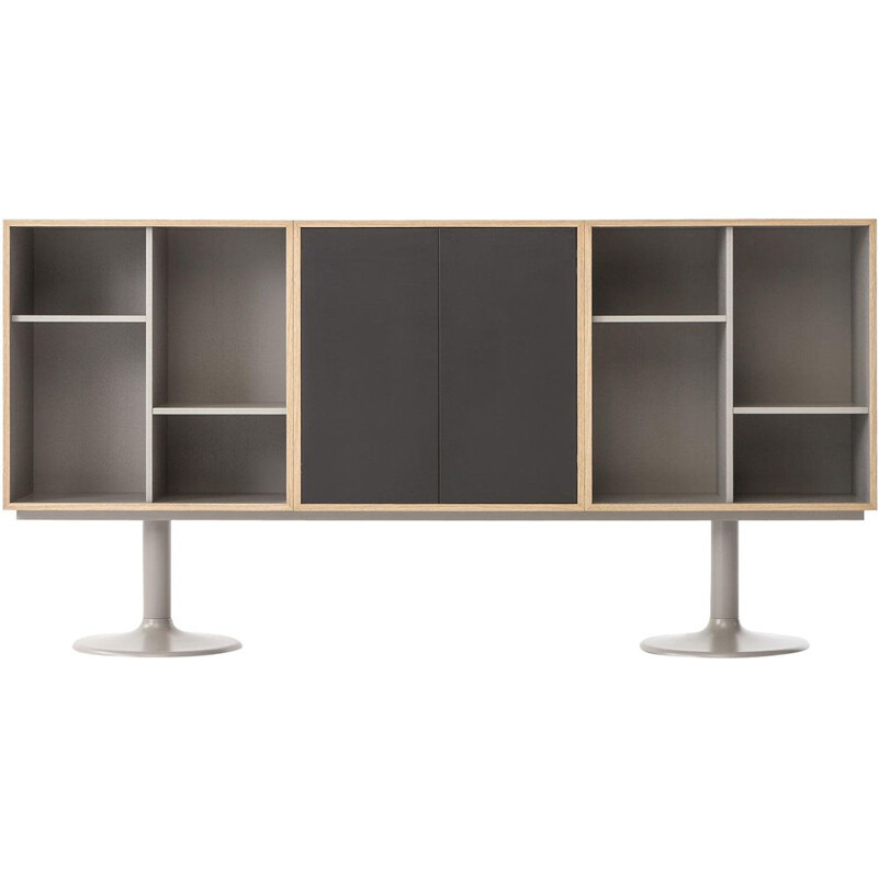 """LC20 - CASIER STANDARD"" bookcase, A5 or B5, Le Corbusier for CASSINA"