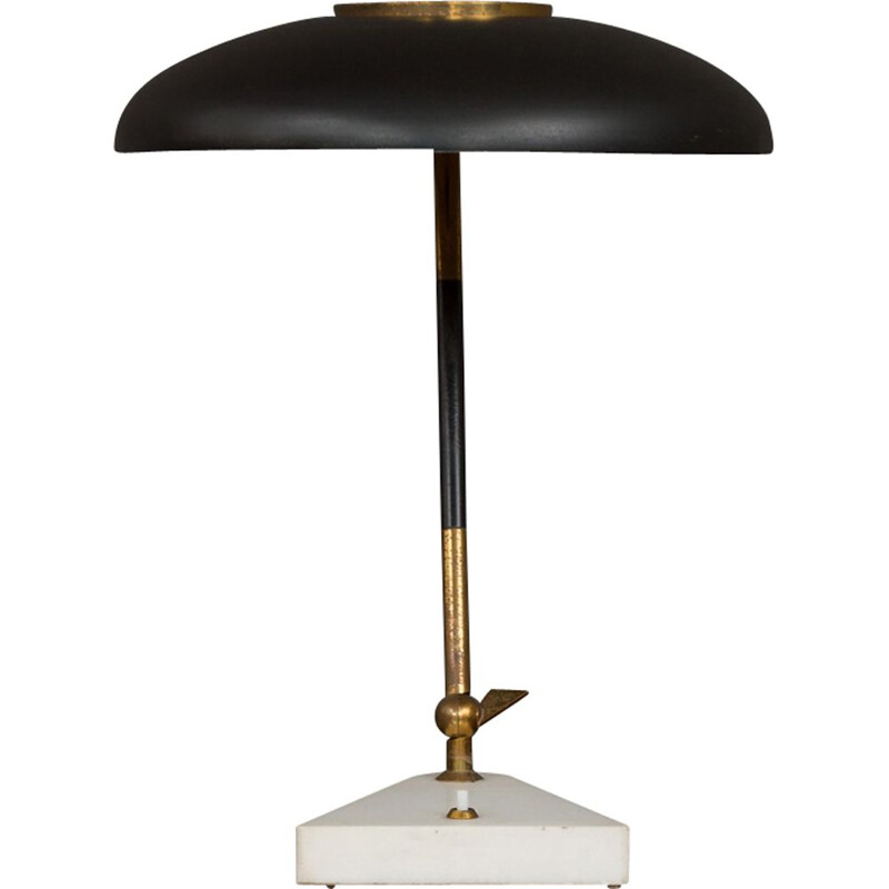 Vintage desk lamp by Oscar Torlasco for Stilux