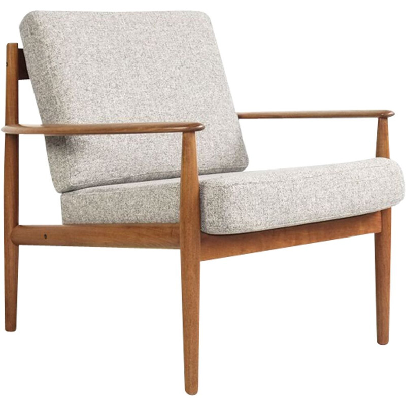 Vintage armchair in teak by Grete Jalk for France and Son 1960s