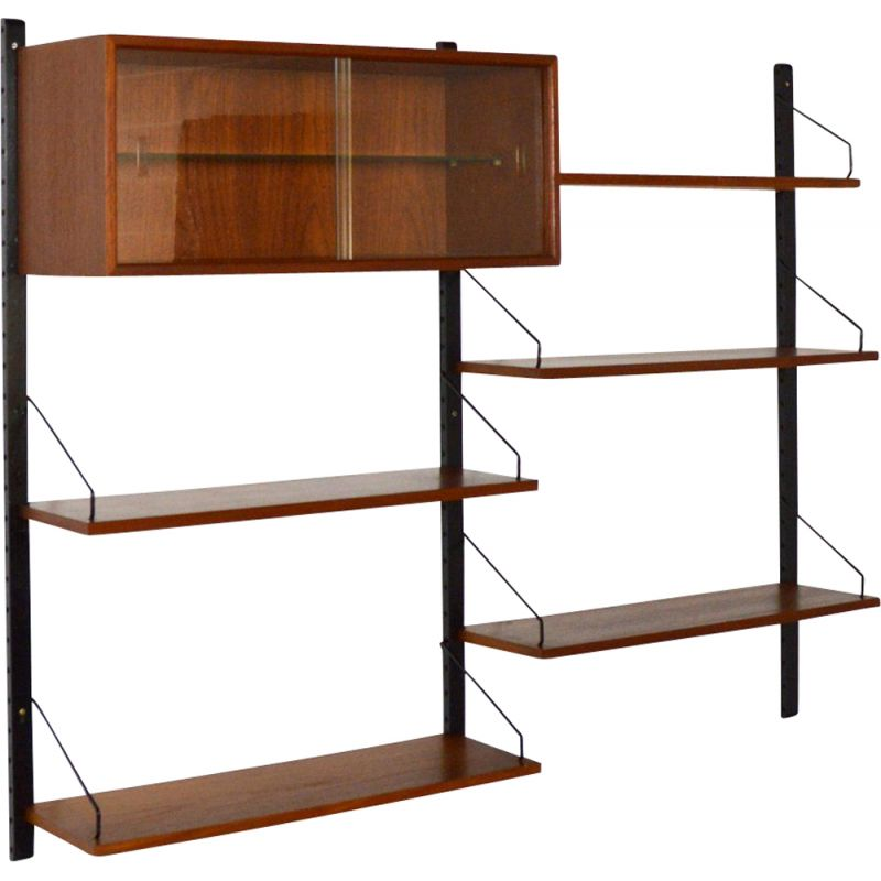Royal System modular bookcase by Poul Cadovius
