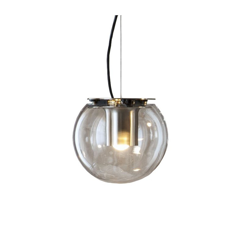 """The Globe 827 Or"" pendant lamp by Joe Colombo for OLUCE"
