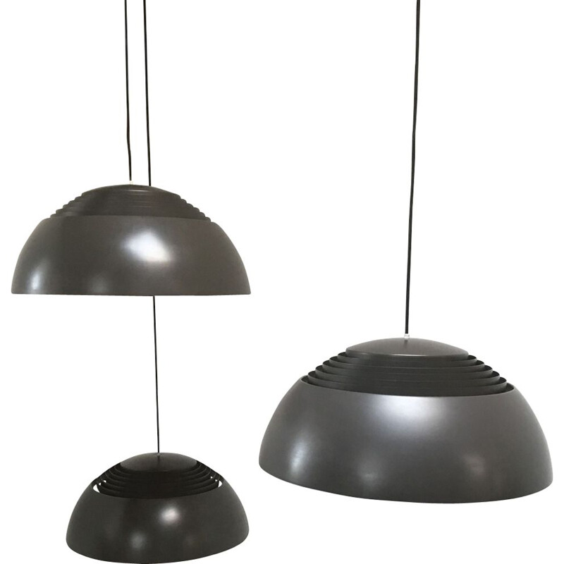 Vintage pendant lamp AJ ROYAL Louis Poulsen by Arne Jacobsen 1960s