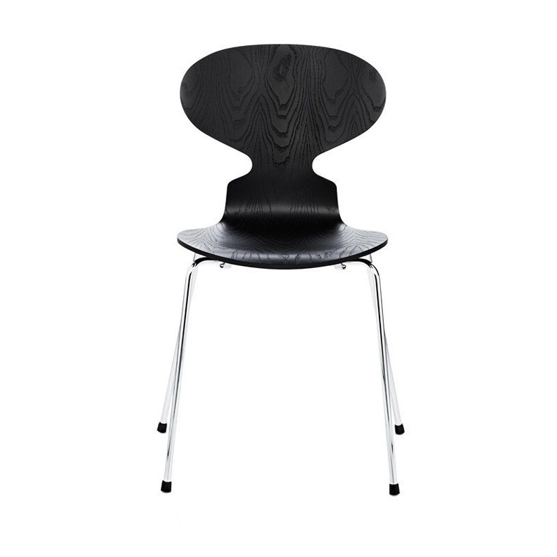 """""""Ant chair"""" 4 feet and coloured ash by Arne Jacobsen for FRITZ HANSEN"""