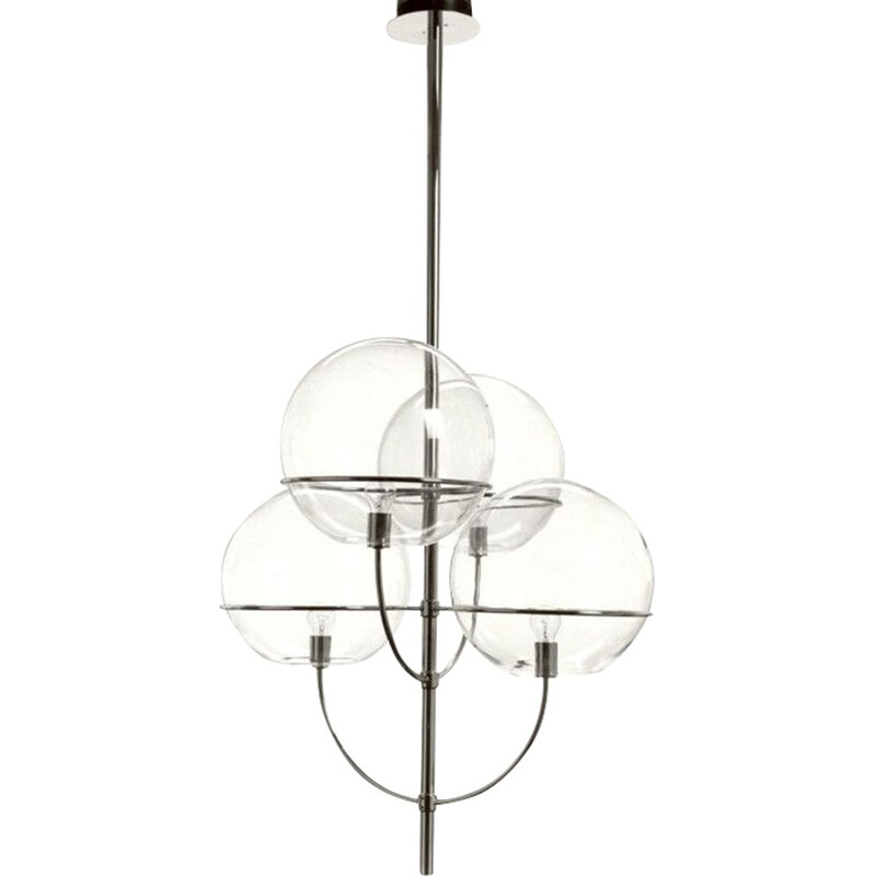 """Lyndon 450"" pendant lamp by Vico Magistretti for OLUCE"