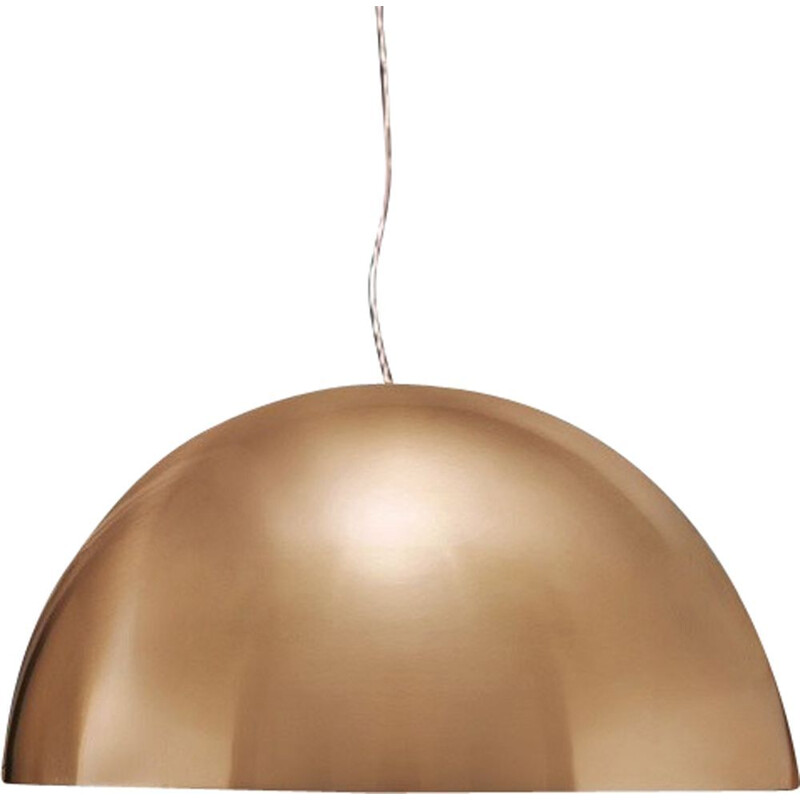 """Sonora 408 Or"" pendant lamp by Vico Magistretti for OLUCE"