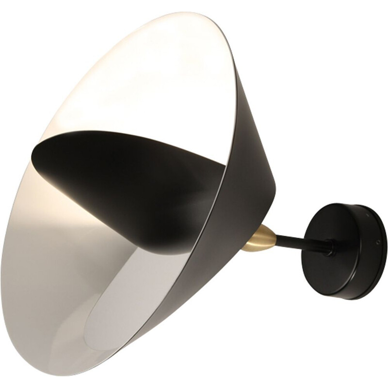 "Wall lamp ""Saturne""  by SERGE MOUILLE"