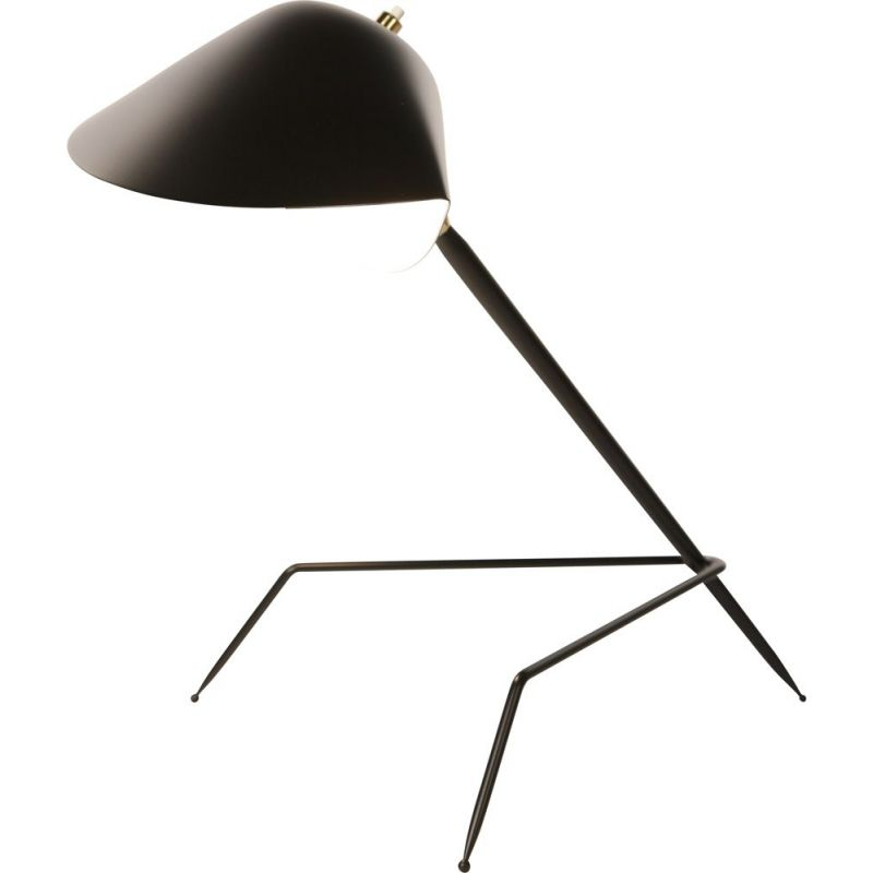 """Desk lamp """"Tripode"""" by SERGE MOUILLE"""