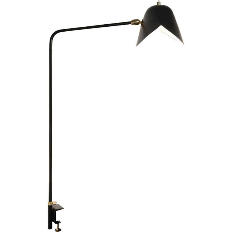 """Lamp """"Agrafée simple"""" by SERGE MOUILLE"""
